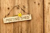 Potting Shed — Stock Photo