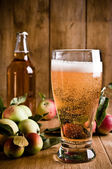 Glass Of Cyder — Stock Photo
