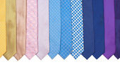 Row Of Ties — Stock Photo