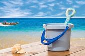 Bucket & Spade — ストック写真