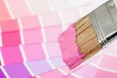 Paint Brush - Pink — Stock Photo