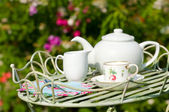 Tea Party — Stock Photo