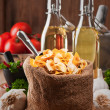 Farfalle Pasta Bag — Stock Photo