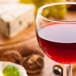 Red Wine With Cheese — Stock Photo #11546022