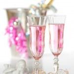 champanhe de dia dos namorados — Fotografia Stock  #11546070