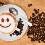 Smiley Face Coffee — Stock Photo #11546797