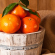Stock Photo: Clementine Crop