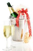 Celebratory Champagne — Stock Photo