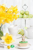 Easter Tea Party — Stock Photo