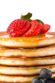 Close Up Pancakes — Stock Photo