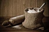 Flour Sack — Stock Photo