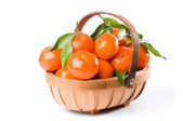 Clementine Trug — Stock Photo