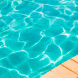 poolside — Stock Photo