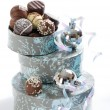 Luxury Christmas Chocolates — Stock Photo