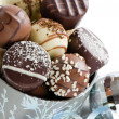 Luxury Christmas Chocolates — Stockfoto