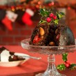 Christmas Pudding - Stockfoto