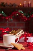 Festive Teabreak — Stock Photo