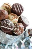 Chocolates de navidad de lujo — Foto de Stock