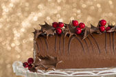 Christmas Roulade — Stock Photo