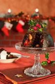 Christmas Pudding — Stock Photo
