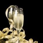 Champagne Toast — Stock Photo