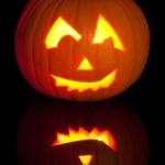 Carved Jack O Lantern — Stock Photo