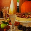 Thanksgiving Table — Stock Photo