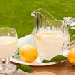 Summertime Lemonade - Stock Photo