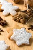 Baking At Christmas — Stock Photo