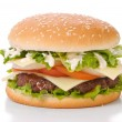Juicy Hamburger — Stock Photo