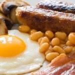English Breakfast Close Up — Stock Photo #11611775