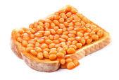 Beans On Toast — Stock Photo