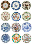 Antique Plate Images — Stock Photo