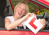 Passed The Driving Test — Stock Photo