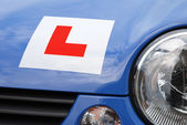 Learner Driver Plate — Stock Photo