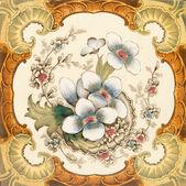 Viktoriánské dlaždice — Stock fotografie