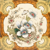 维多利亚时代的平铺 — 图库照片