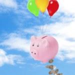 financiële crisis — Stockfoto