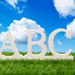 Alphabet Letters — Stock Photo #12298869