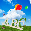Alphabet Letters — Stock Photo #12405859
