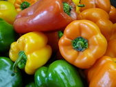 Colorful Peppers — Stok fotoğraf