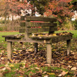 Stock Photo: Bench_in_the_park
