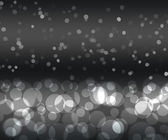 Black silver color bokeh — Stock Photo