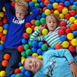 Stock Photo: Children in fun balls