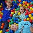 Постер, плакат: Children in fun balls