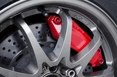 Car brakes — Stock Photo