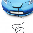 Electric car — Stock Photo