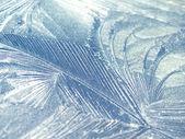 霜の自然なパターン — ストック写真