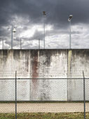 Prison wall — Stock Photo