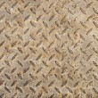 Royalty-Free Stock Photo: Rusted checker plate